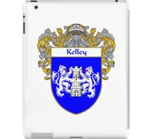 Kelley Coat of Arms/Family Crest iPad Case/Skin