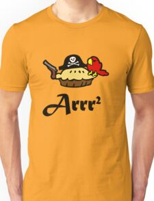 Pie Arrr Squared Unisex T-Shirt