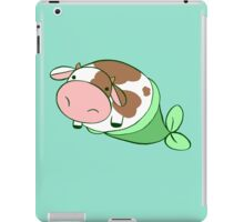 Mermaid Cow iPad Case/Skin