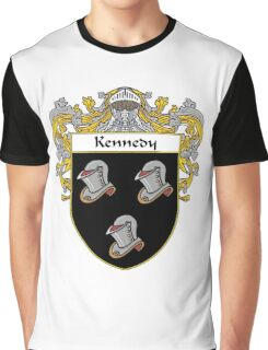 Kennedy Coat of Arms/Family Crest Graphic T-Shirt