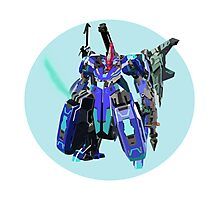 Blue Bomber Skell Photographic Print