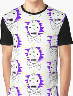 Misty Skull Graphic T-Shirt