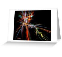 Fractal Energy Greeting Card