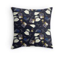 x-files print Throw Pillow