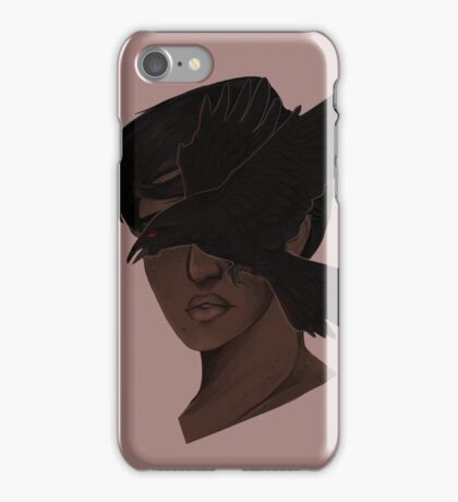 raven goggles iPhone Case/Skin