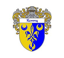 Kenny Coat of Arms/Family Crest Photographic Print