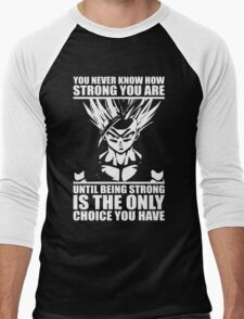 You Never Know How Strong You Are Men's Baseball ¾ T-Shirt