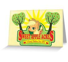 Sweet Apple Acres Greeting Card