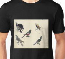 Naturgeschichte in Bildern mit erläuterndem Text E Strack 1820 Lief 2 Birds 052 Unisex T-Shirt