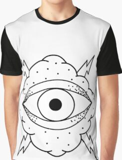 Eye In The Cloud Graphic T-Shirt