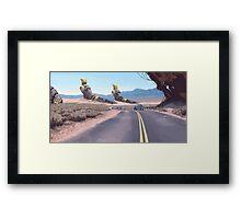 Highway Patrolman Framed Print