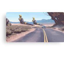 Highway Patrolman Metal Print