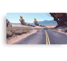 Highway Patrolman Canvas Print
