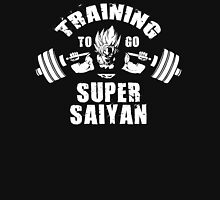 Training To Go Super Saiyan (Squat) Unisex T-Shirt