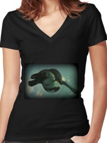 Leisure Cruise Women's Fitted V-Neck T-Shirt