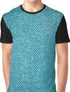Blue Mermaid Graphic T-Shirt