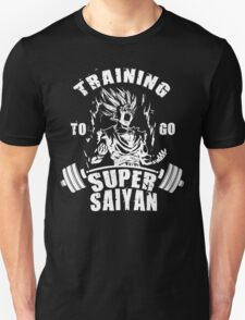 Training To Go Super Saiyan (Gohan) Unisex T-Shirt