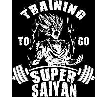 Training To Go Super Saiyan (Gohan) Photographic Print