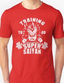 Training To Go Super Saiyan (Vegeta) Unisex T-Shirt