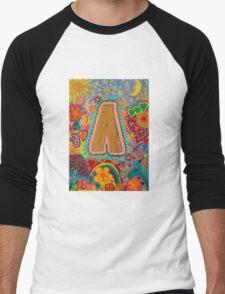 Initial A Men's Baseball ¾ T-Shirt