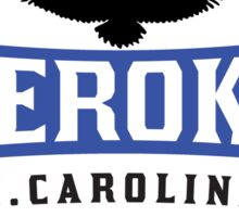 CHEROKEE NORTH CAROLINA GREAT SMOKY MOUNTAINS SMOKIES Sticker