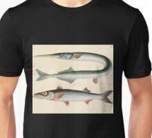 Naturgeschichte in Bildern mit erläuterndem Text E Strack 1820 Lief 4 Fish 112 Unisex T-Shirt