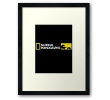 Humorous Rude Framed Print