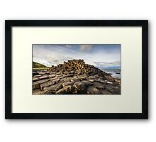 Ireland - The Giants Causeway Framed Print