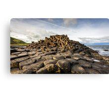 Ireland - The Giants Causeway Canvas Print