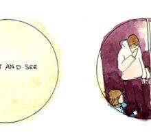 Arctic Monkeys Album Watercolour Doodles Sticker