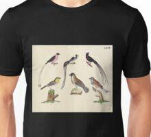 Naturgeschichte in Bildern mit erläuterndem Text E Strack 1820 Lief 2 Birds 068 Unisex T-Shirt