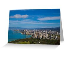 Oahu, Hawaii Greeting Card