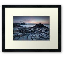 Ireland - Giants Causeway Framed Print