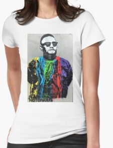 Notorious Conor McGregor  Womens Fitted T-Shirt