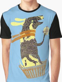 Travel Dog Let's Go Places Graphic T-Shirt