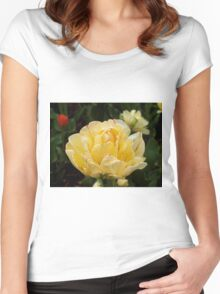 Spring Flower. Women's Fitted Scoop T-Shirt