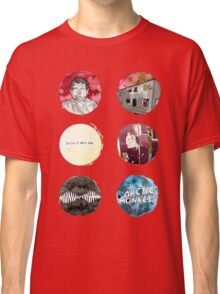 Arctic Monkeys Album Watercolour Doodles Classic T-Shirt