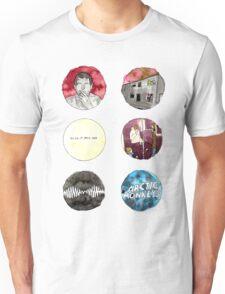 Arctic Monkeys Album Watercolour Doodles Unisex T-Shirt