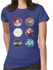 Arctic Monkeys Album Watercolour Doodles Womens Fitted T-Shirt