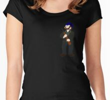 Bobby Singer - Idjits Women's Fitted Scoop T-Shirt