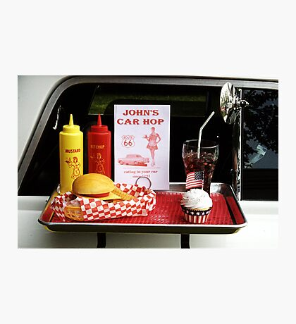 1950's Drive-in Photographic Print