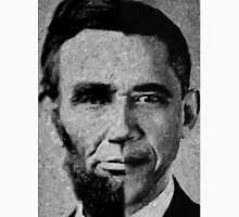 Impressionist Interpretation of Lincoln Becoming Obama Unisex T-Shirt