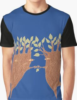 Dancing Trees Graphic T-Shirt