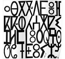 ancient languages  Poster