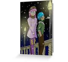 Raiden Legacy - Winter Walk (Chill) Greeting Card