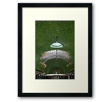 Belle Isle Aquarium Ceiling 2 Framed Print