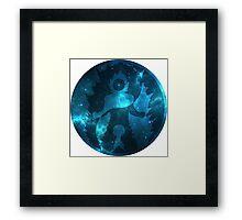 Yin Yang (Super Saiyan God) Universe Symbol Framed Print