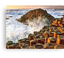 Ireland - Giants Causeway Canvas Print