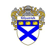 Kilpatrick Coat of Arms/Family Crest Photographic Print