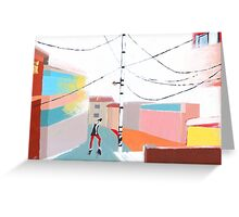 Dancing in the Street Greeting Card